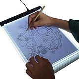 Light Box Drawing A4 Light Board USB Powered LED Copy Board Diamond Paiting Light Pad, Art Craft Embroidery Stencil Drawing Cross Stitch Kits