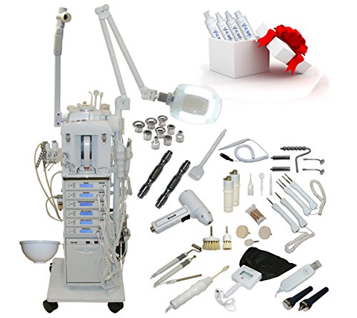 17 in 1 Elite Series Multifunction Diamond Microdermabrasion Facial Machine Salon Spa Beauty Equipment by LCL Beauty
