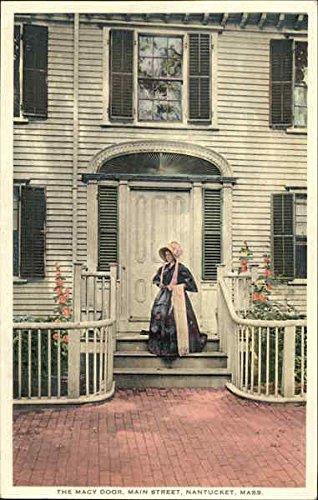The Macy Door, Main Street Nantucket, Massachusetts Original Vintage - Street Main Macys
