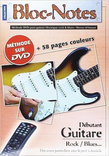 Téléchargement Bloc Notes Guitare Electrique Methode Tab DVD pdf