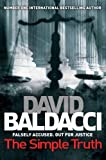 Front cover for the book The Simple Truth by David Baldacci