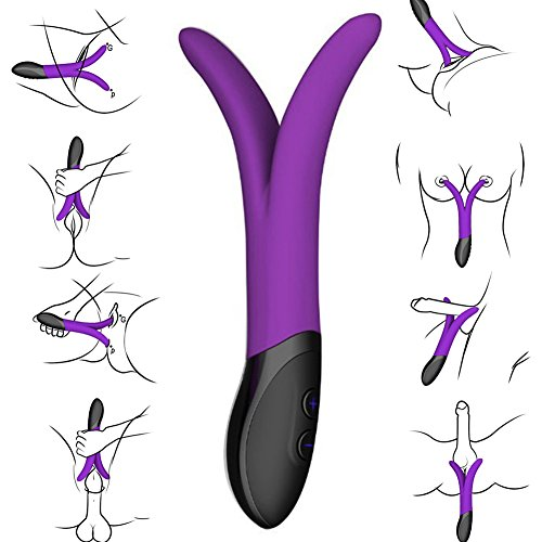 RESTART® Rechargeable Multifunctional Silicone Vibrator - 9 Patterns for Internal Stimulation - G-spot Vibe,clitroal Stimulator,male Prostate Massager,foreplay Teaser,powerful Vibration Anal Toy