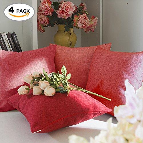 Brilliant Decoration Supersoft Pillows Burgundy