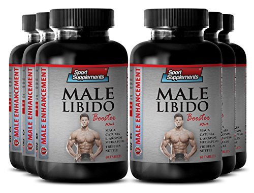 Stinging nettle capsules - Male Libido Booster - Revitalizes entire body (6 Bottles - 360 Tablets) by Sport Supplement