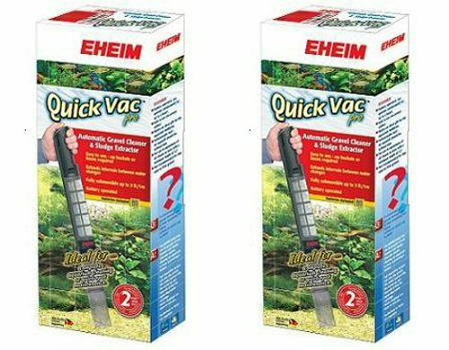EHEIM Quick Vac Pro Automatic Gravel Vacuum Cleaner 2pk by Eheim