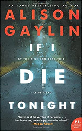 Image result for if i die tonight by alison gaylin