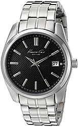 Kenneth Cole New York Men's 10024356 Classic Analog Display Japanese Quartz Silver Watch
