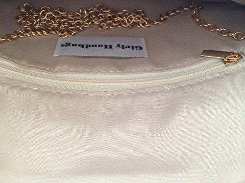Girly HandBags Women's Envelope Clutch Bag -- Yellow