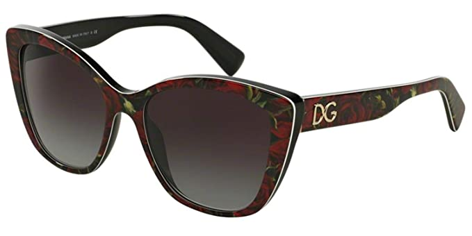 7aa338648cd Image Unavailable. Image not available for. Color  Dolce   Gabbana Women s  DG4216 Sunglasses Printing Roses ...