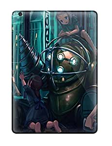 Ultra Slim Fit Hard DanRobertse Case Cover Specially Made For Ipad Air- Big Daddy Bioshock Nurses Drill