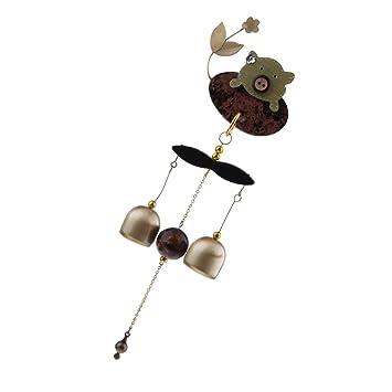 2 stücke Outdoor Metall Windspiele Glocke Japanischen Windspiel Hausgarten