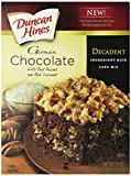 Duncan Hines Decadent Cake Mix, German Chocolate, 21-Ounce (Pack of 8)