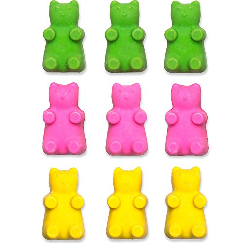 Gummy Molds Silicone Bear | Candy & Chocolate Mold Maker for Jello Gelatin Bears | Kids Party 6 Pack with 2 Bonus Droppers – 300 Cavities – Non Stick & BPA Free – By Lucentee by LUCENTEE (Image #4)