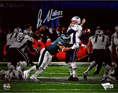 "Brandon Graham Philadelphia Eagles Autographed 8"" x 10"" Sack Fumble Super Bowl LII Champions Photograph - Fanatics Authentic Certified from Sports Memorabilia"