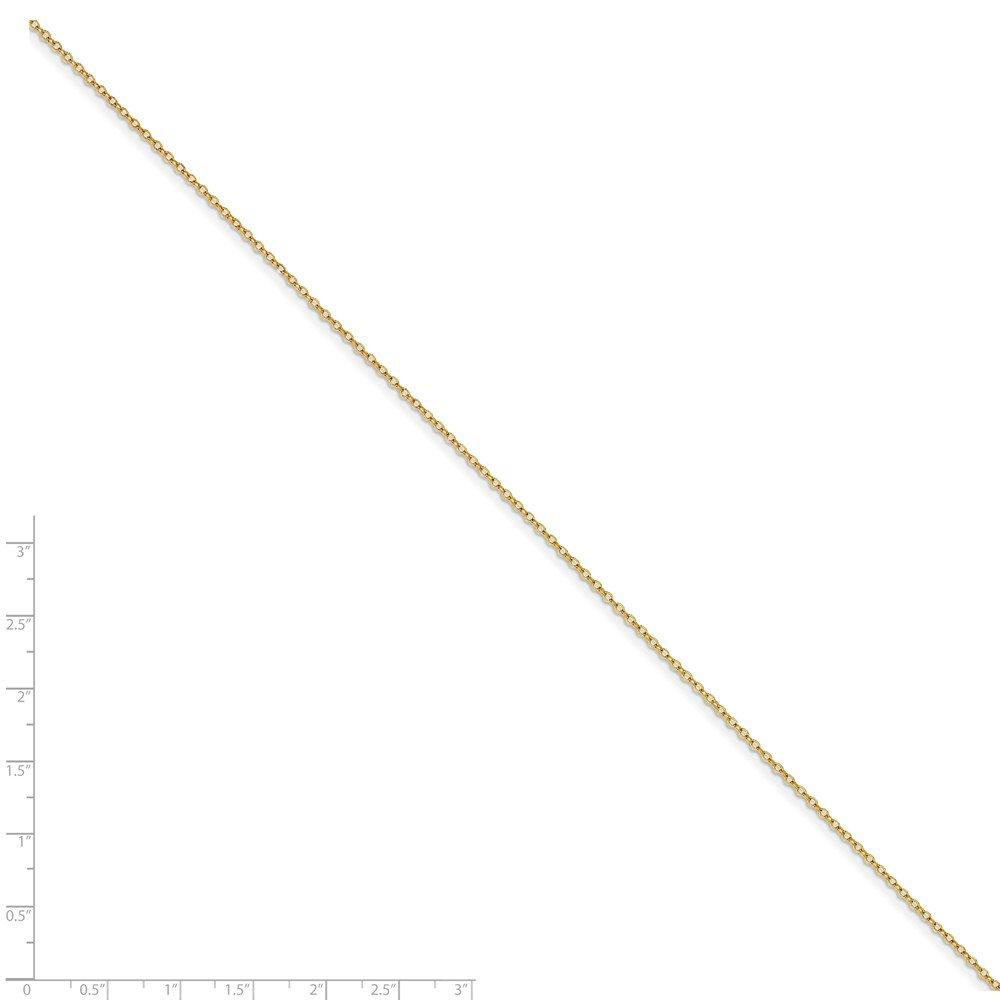 ZenJewels 1.70mm Plated Rolo Chain
