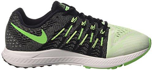 Nike Air Zoom Elite 8, Zapatillas de Running para Hombre Negro / Verde / Blanco (Sail/Black-Ghst Green-Vltg Grn)