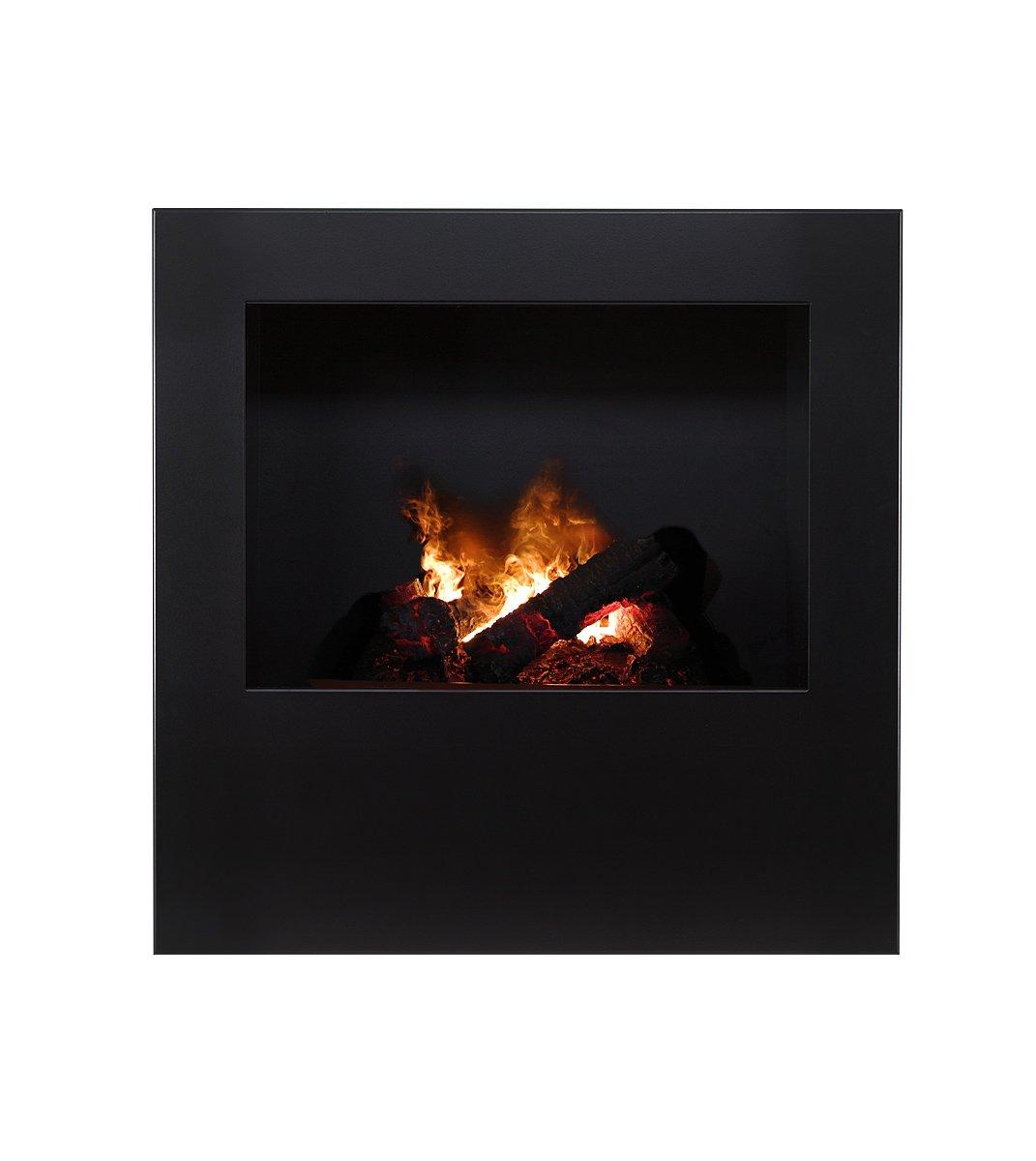 Magma infrarrojos-estufa de leña 04, chimenea eléctrica de calor Optimyst con verdadera, controlado por radio: Amazon.es: Hogar