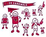 NFL Arizona Cardinals Large Family Decal Set