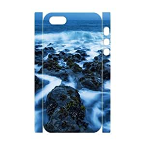 3D Sea Case For iPhone 5,5S White Nuktoe276328 by icecream design