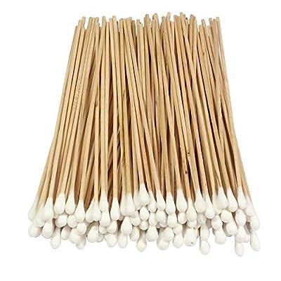 IVORIE® Cotton Swab, Wood Handle, 6in., 100 Pieces/Pkg