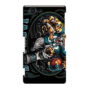 Protector Hard Phone Covers For Sony Xperia Z3 Mini (fmR266rDcv) Unique Design Beautiful Jacksonville Jaguars Pictures