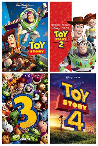 PremiumPrints - Disney Pixar Toy Story 1 2 3 4 Movie Poster Set - MSET45 Premium Canvas 11