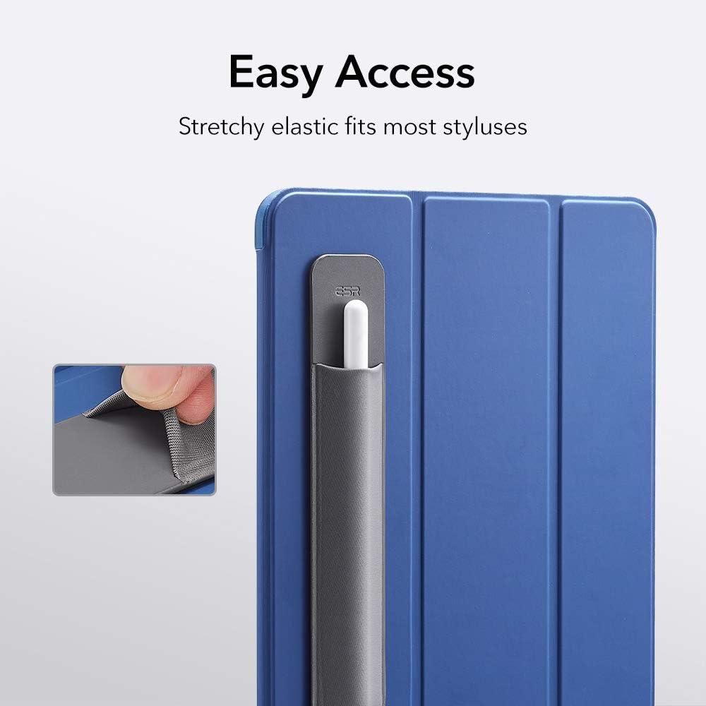 Penna Protetta e al Sicuro 1/° e 2/° Generazione Verde ESR Porta Penna Capacitiva Compatibile con Apple Pencil Manica Adesiva Attaccata alla Cover per Penna Capacitiva Tasca Elastica