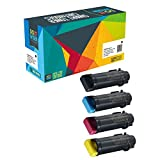 Do it Wiser Compatible Toner for Xerox WorkCentre 6515 Phaser 6510 - 4 Pack