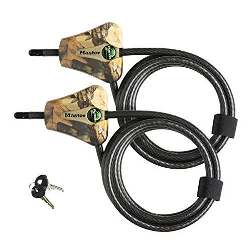 (Master Lock Python Trail Camera Adjustable Camouflage Cable Locks 8418KA-2 CAMO)