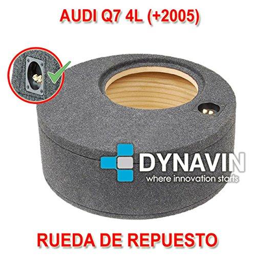 AUDI Q7 4L (+2005) - CAJA ACUSTICA PARA SUBWOOFER ESPECÍ FICA PARA HUECO EN EL MALETERO Dynavin CJ-AUDI.07