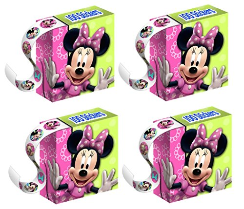 - Minnie Bows Sticker Boxes Party Favors by Hallmark