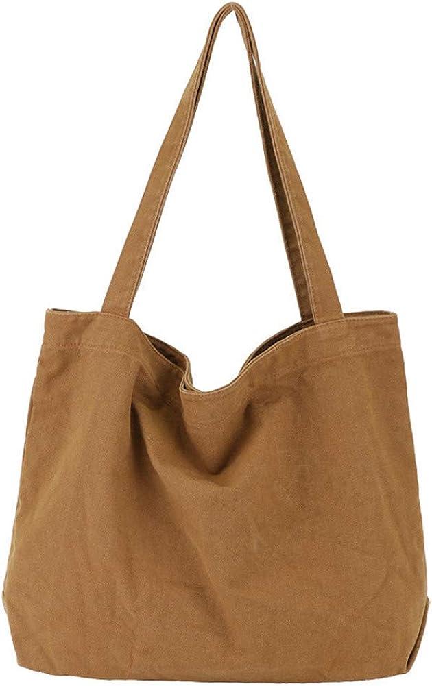 YARUODA Women Shoulder Bags Canvas Tote Bag Handbag Work Bags