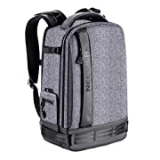 Neewer Camera Backpack Bag Detachable Padded Camera Case for DSLRs, Mirrorless Cameras, Lenses, Tripods, 13 inches…
