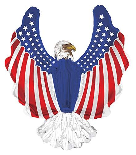 American Flag Stars & Stripes Bald Eagle 36