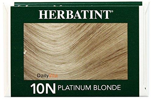Herbatint Permanent Haircolor Gel 10N Platinum Blonde 1 Box