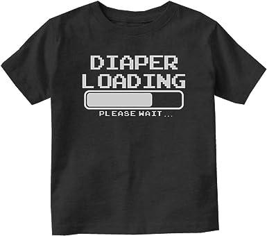 Poop Loading Please Wait Funny Toddler T-shirt