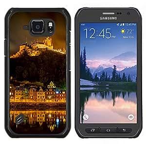 Stuss Case / Funda Carcasa protectora - Mountain City Noche - Samsung Galaxy S6Active Active G890A