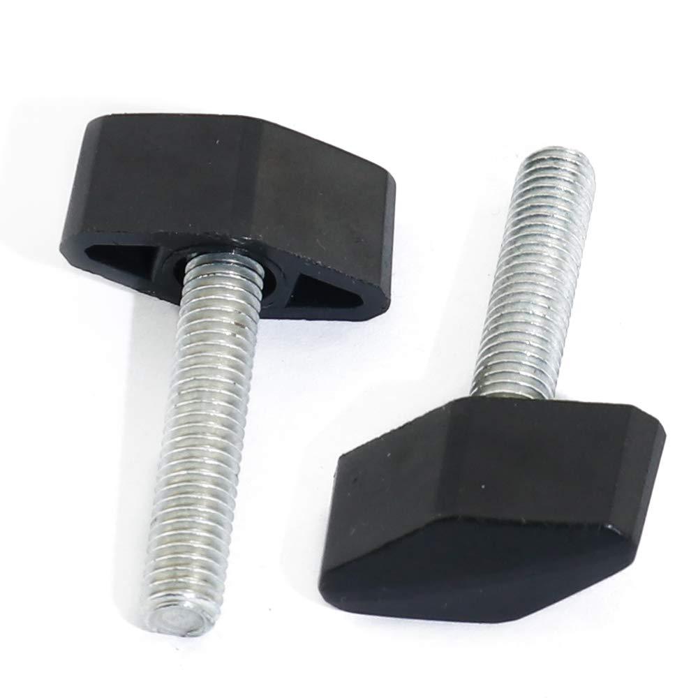 6mm x 13mm Gray Thumb Screws with Wing Knob Thumbscrews Thumb Screw Butterfly Thumb Screws Thumbscrew M6 4