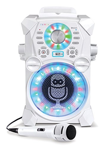 Review Of Singing Machine SDL485W Remix Hi-Def Digital Karaoke System with Resting Tablet Cradle & M...