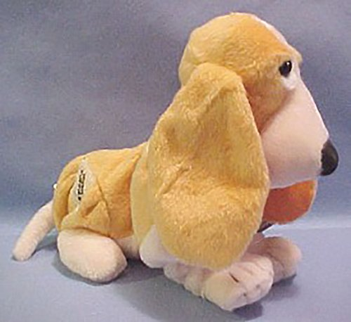Plush Vanilla Scented Peaches N' Cream Hush Puppies Basset Hound Stuffed Animal