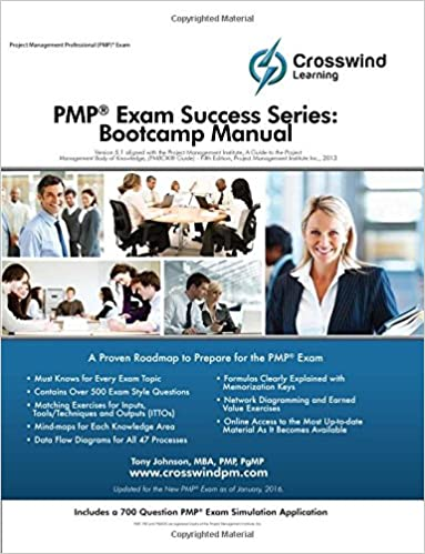 Amazon com: PMP Exam Success Series: Bootcamp Manual with Exam Sim