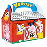Fun Express 8 Farm Barnyard Animal Treat Boxes
