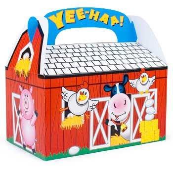 Fun Express 8 Farm Barnyard Animal Treat Boxes