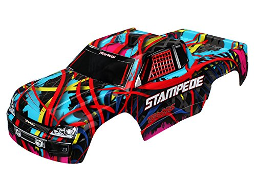 (Traxxas Body Stampede Hawaiian GFX (Painted w Decals))