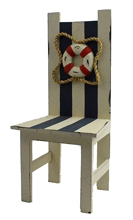 tropical home decor uk wood life guard beach chair blue white ring preserver nautical  wood life guard beach chair blue white