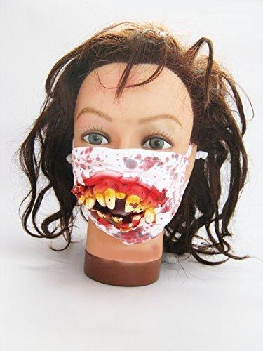 Halloween Zombie Surgeon Medical Mask by Scream Machine ()