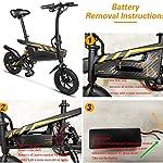 Rxrenxia-Pieghevole-Bici-Elettrica-con-48V10AH-Litio-400W-Telaio-Lega-di-Alluminio-Leggera-Pieghevole-Citt-Biciclette-per-Adulti-Vacanze-Idee-Tempo-Libero-Fitness-Camping