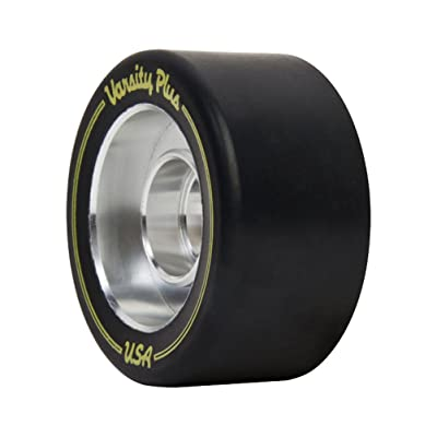 Riedell Varsity Plus Roller Skate Wheels - 57mm/Black: Toys & Games