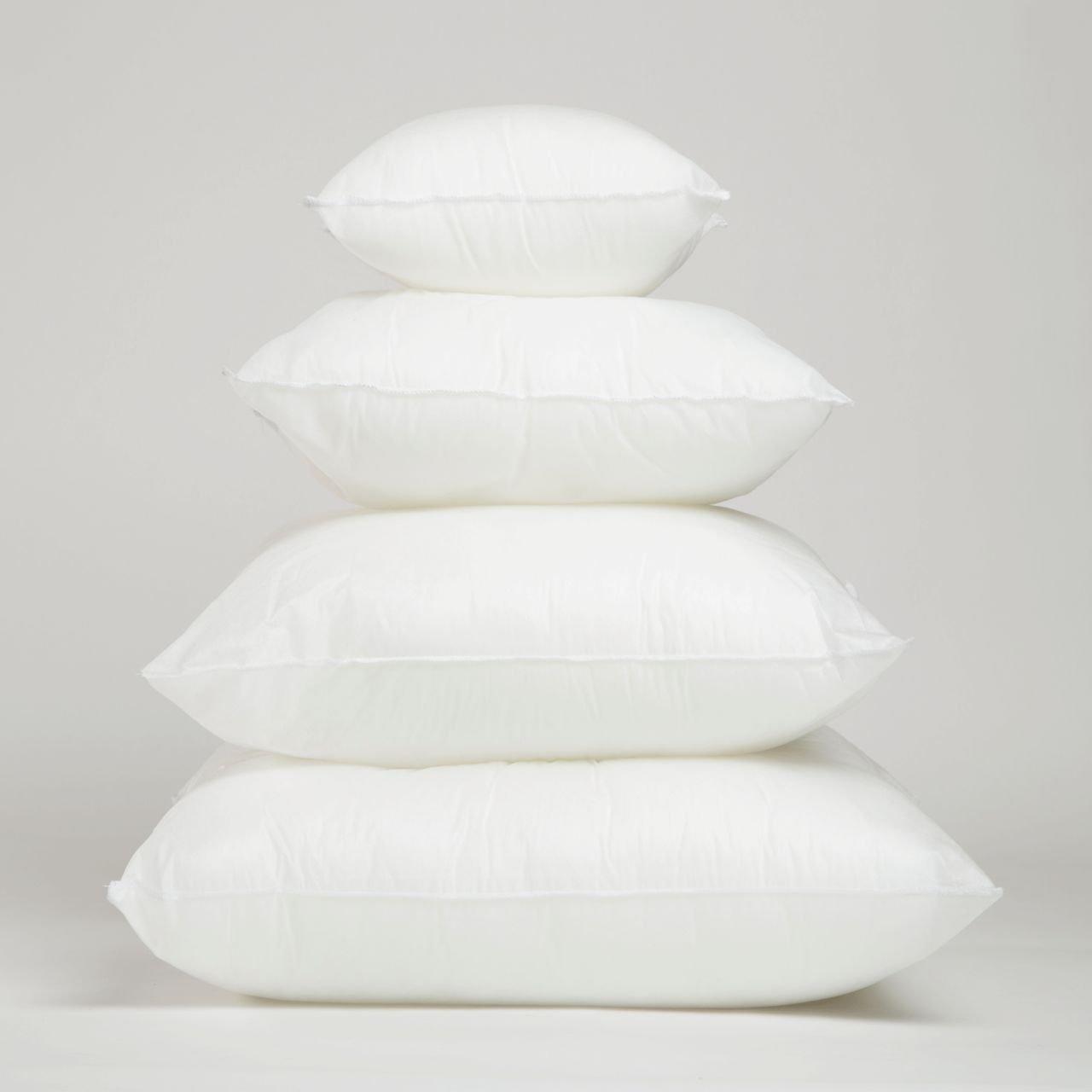 x form insert pillow down