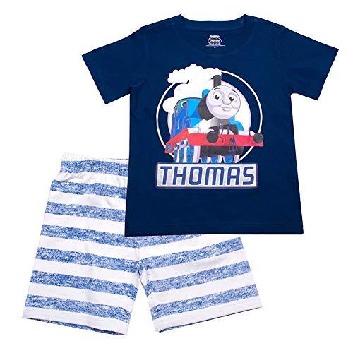 Toddler Boy Thomas The Train Graphic Tee & Striped Shorts Set